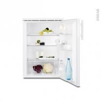Petit réfrigérateur 153L - Sous plan 85 cm - Blanc - ELECTROLUX - ERT1601AOW3
