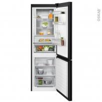 Réfrigérateur combiné 330L - Pose libre 186 cm - Noir - ELECTROLUX - LNT7ME32M1