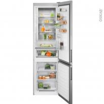 Réfrigérateur combiné 366L - Pose libre 201 cm - Inox Anti Trace - ELECTROLUX - LNT7ME34X2