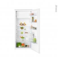 Réfrigérateur 187L - Intégrable 122cm - ELECTROLUX - KFB1AF12S