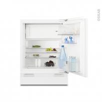 Petit réfrigérateur 117L - Sous plan Intégrable 82 cm - ELECTROLUX - ERY1201FOW