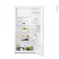 Réfrigérateur 122cm - Intégrable 189L - ELECTROLUX - ERN2012BOW