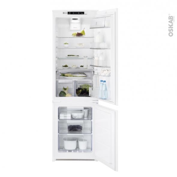 Réfrigérateur combiné 253L - Intégrable 178cm - ELECTROLUX - ENT8TE18S
