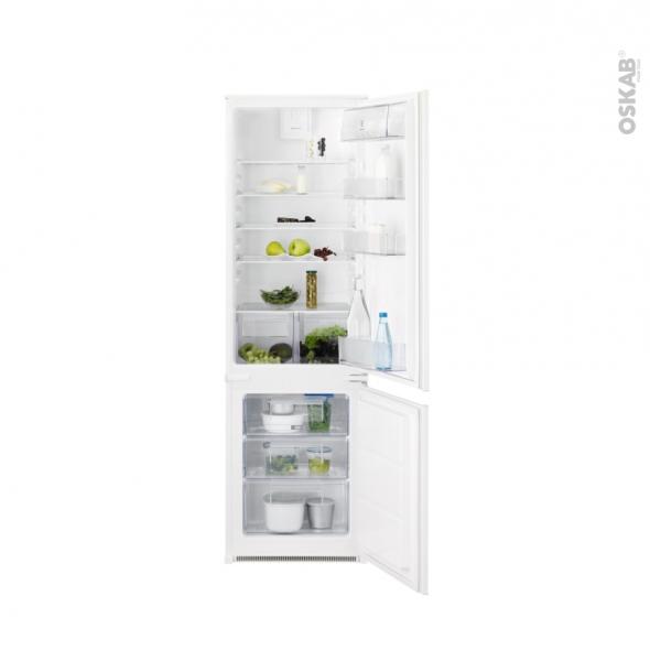 Réfrigérateur combiné 267L - Intégrable 178cm - ELECTROLUX - KNT2FF18T