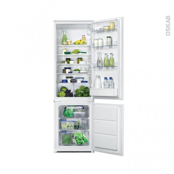 Réfrigérateur combiné 280L - Intégrable 178 cm - FAURE - FBB28441SA