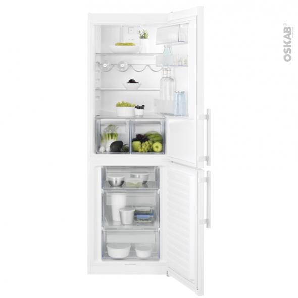 Réfrigérateur combiné 329L - Pose libre 185 cm - Blanc - ELECTROLUX - LNT3FF34W3