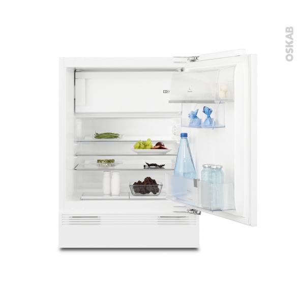 Réfrigérateur 82cm - Sous plan - Intégrable 117L - ELECTROLUX - ERY1201FOW