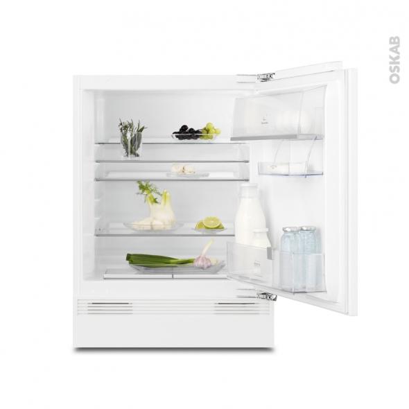 Petit réfrigérateur 136L - Sous plan Intégrable 82cm - ELECTROLUX - ERY1401AOW
