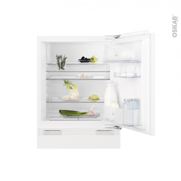 Réfrigérateur 133L - Intégrable 82cm - ELECTROLUX - EXB3AF82R