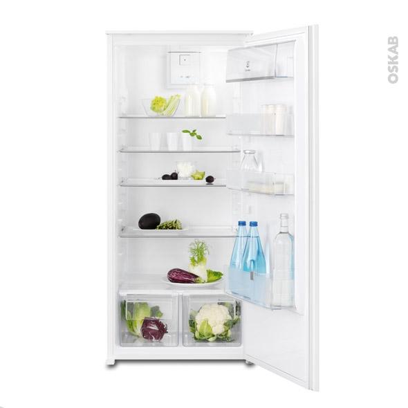 Réfrigérateur 208L - Intégrable 122cm - ELECTROLUX - ERN2212BOW