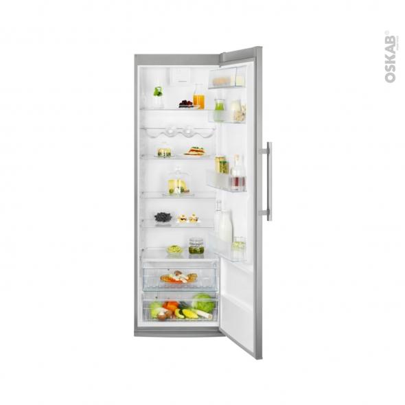 Réfrigérateur 388L - Pose libre 185 cm - Inox Anti Trace - ELECTROLUX -LRS1DF39X