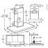 #Hotte de cuisine aspirante - Box 90cm - Inox - ELECTROLUX - LFT769X