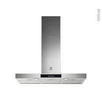 Hotte de cuisine aspirante - Box 90cm - Inox - ELECTROLUX - LFT429X