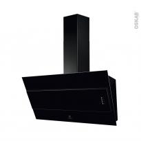 Hotte de cuisine aspirante - Inclinée 90cm - Verre Noir - ELECTROLUX - LFV319K