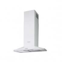 Hotte de cuisine aspirante - Pyramide 60 cm - Blanc - ELECTROLUX - EFC60465OW