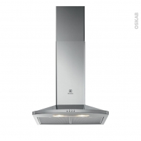 Hotte de cuisine aspirante - Pyramide 60 cm - Inox - ELECTROLUX - EFC316X