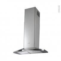 Hotte de cuisine aspirante - Pyramide 60 cm - Inox - ELECTROLUX - EFC60465OX