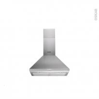 Hotte de cuisine aspirante - Pyramide 60cm - Inox - INDESIT - IHPC 6.4 AM X