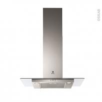 Hotte de cuisine aspirante - verre 90cm - ELECTROLUX - EFC90466OX