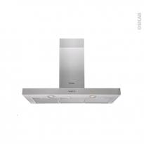 Hotte de cuisine aspirante - Box 90cm - Inox - INDESIT - IHBS 9.5 AM X