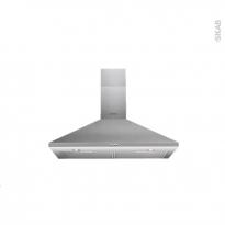 Hotte de cuisine aspirante - Pyramide 90cm - Inox - INDESIT - IHPC 9.4 AM X