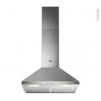 Hotte de cuisine aspirante - Pyramide 60cm - Inox - FAURE - FHC62462XA