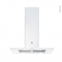 Hotte de cuisine aspirante - Pyramide 90 cm - Blanc - ELECTROLUX - EFF90462OW