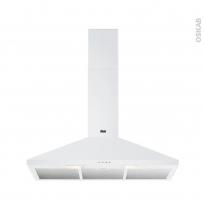 Hotte de cuisine aspirante - Pyramide 90cm - Blanc - FAURE - FHC92462WA