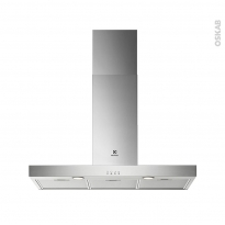 Hotte de cuisine aspirante - Box 90 cm - Inox - ELECTROLUX - LFT419X