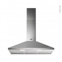 Hotte de cuisine aspirante - Pyramide 90cm - Inox - FAURE - FHC92462XA