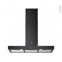 Hotte de cuisine aspirante - Box 90 cm - Noir - ELECTROLUX - LFT419K