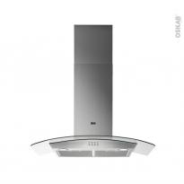 Hotte de cuisine aspirante - Verre 90cm - ELECTROLUX - FHC97551X