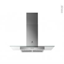 Hotte de cuisine aspirante - Verre 90cm - ELECTROLUX - LFL229X
