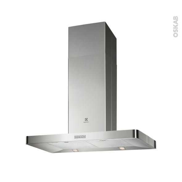 Hotte Ilot décorative - 90cm - Inox - ELECTROLUX - EFL90560OX