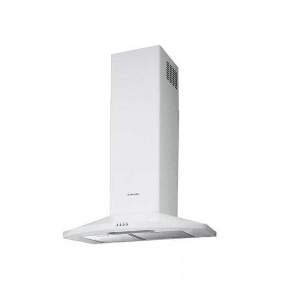 hotte de cuisine aspirante pyramide 60 cm blanc electrolux ... - Hotte Aspirante Decorative 60 Cm