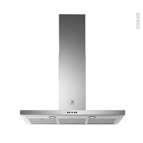 Hotte box - 90cm - Inox - ELECTROLUX - EFB90981OX