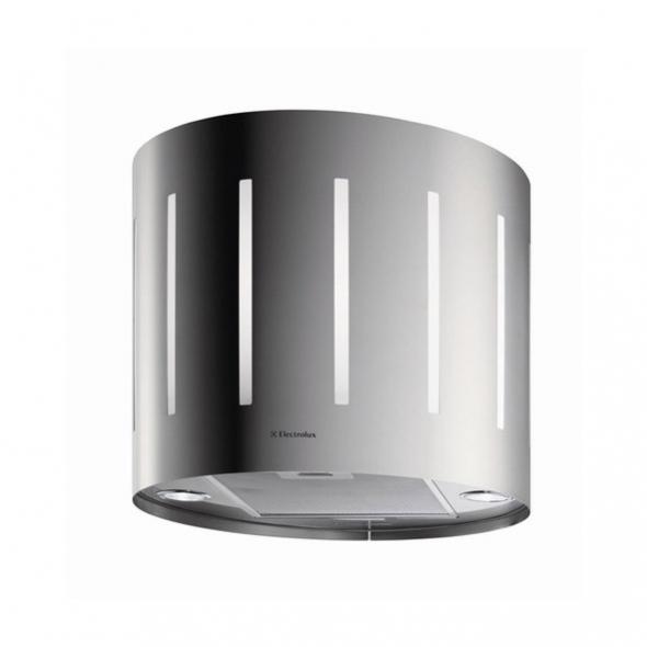 Hotte de cuisine aspirante - Ilot décorative lustre 49 cm - Inox - ELECTROLUX - EFL50555OX