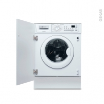 Lave linge Séchant 7 kg - Intégrable 60 cm - ELECTROLUX - EWX127410W