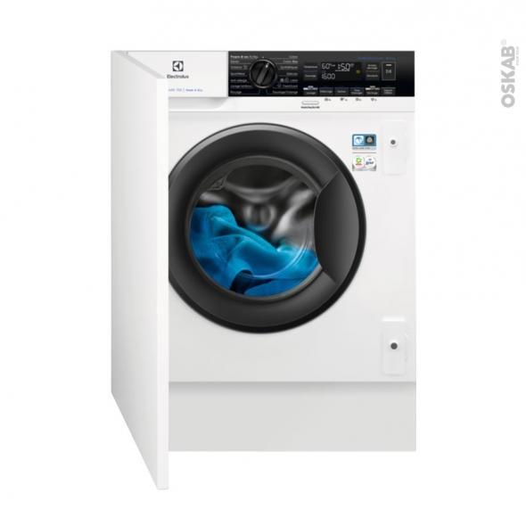 Lave linge Séchant 60CM - Intégrable 8+4kg - ELECTROLUX - EW7W3816BI