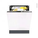 Lave vaisselle 60CM - Full Intégrable 13 couverts - FAURE - FDT26016FA