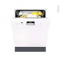 Lave vaisselle 60CM - Intégrable 13 couverts - Blanc - FAURE - FDI26016WA