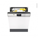 Lave vaisselle 60CM - Intégrable 13 couverts - Inox - FAURE - FDI26016XA