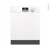 Lave vaisselle 60CM - Intégrable 13 couverts - Blanc - FAURE - FDI22003WA