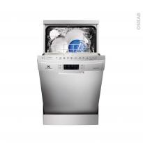 Lave vaisselle 45CM - Pose libre 9 couverts - Inox - ELECTROLUX - ESF4510LOX