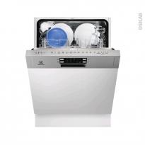 Lave vaisselle 13 couverts - Intégrable 60 cm - Inox - ELECTROLUX - ESI5515LAX
