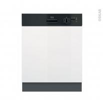 Lave vaisselle 60CM - Intégrable 13 couverts - Noir - FAURE - FDI22003NA