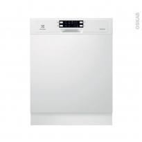 Lave vaisselle 60CM - Intégrable 13 couverts - Blanc - ELECTROLUX - ESI5533LOW