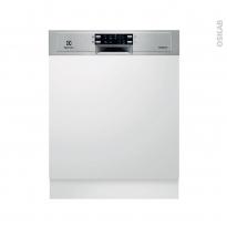 Lave vaisselle 60CM - Intégrable 13 couverts - Inox - ELECTROLUX - ESI5543LOX