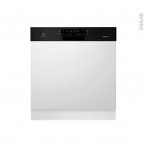 Lave vaisselle 60CM - Intégrable 13 couverts - Noir - ELECTROLUX - ESI5533LOK