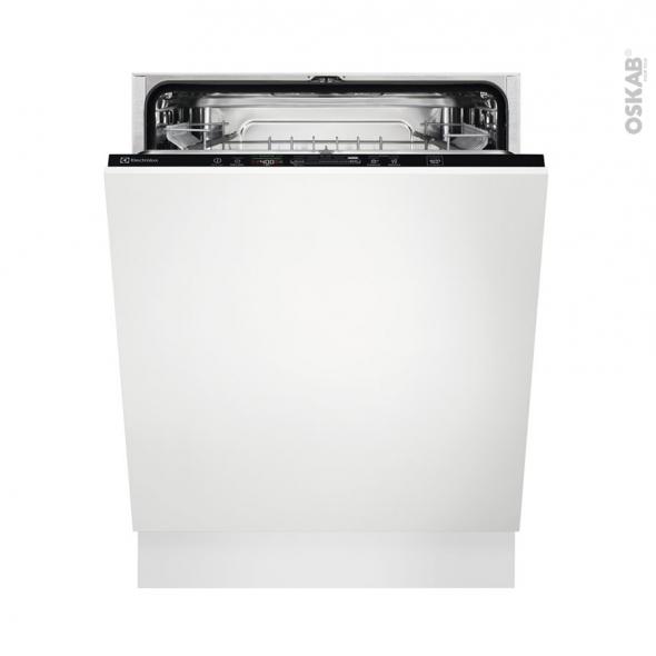 Lave vaisselle 60cm - Full Intégrable 13 couverts - ELECTROLUX - KEQC7200L